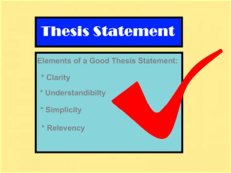 Essay how to write a thesis